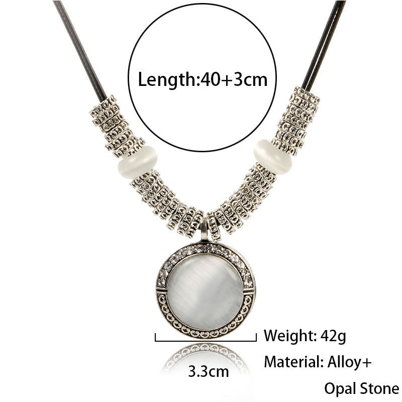 Fashion Opal Statement Necklaces & Pendants