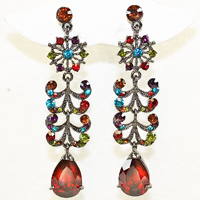 Earrings Set - Crystal and Rhinestone Collection-5