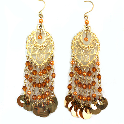 Earrings Set - Gemstone and Beads Collection -12