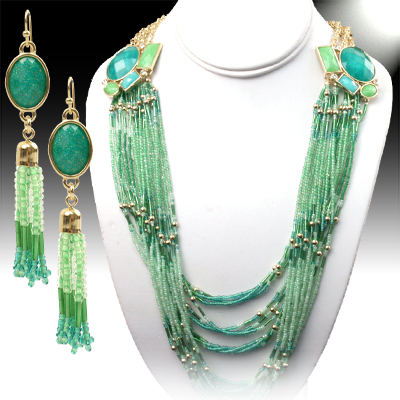 Necklace and Matching Earrings Set