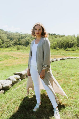 T.ba Life Zoe Short Coat Timeless Martha's Vineyard