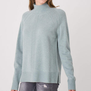 Repeat Cashmere Mock neck Timeless Martha's Vineyard