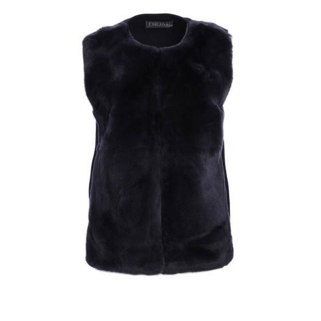 Diomi Rex Fur Vest Timeless Martha's Vineyard