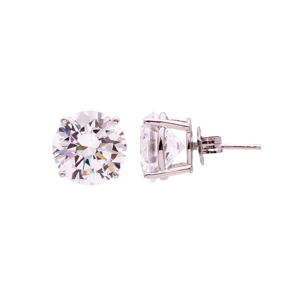 Timeless CZ Stud Earrings