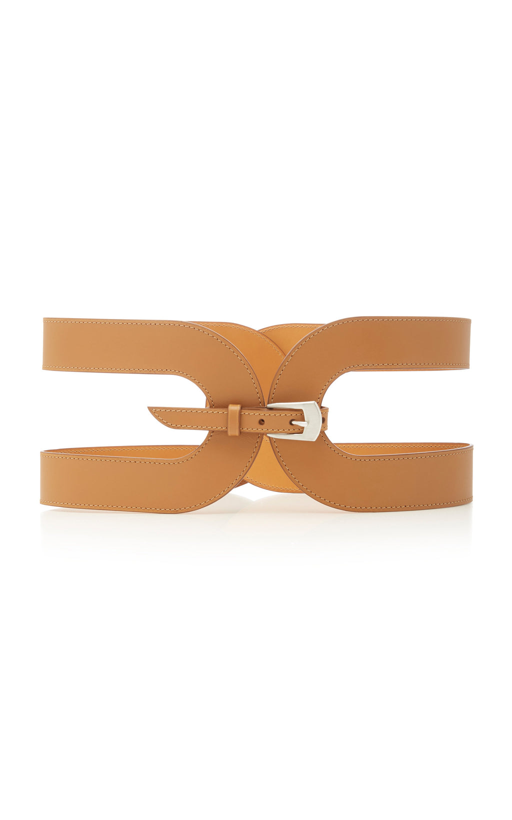 Maison Vaincourt Cage Leather Waist Belt Timeless Martha's Vineyard