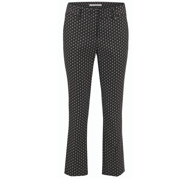 Raffaello Rossi Dora Cropped Pant Timeless Martha's Vineyard