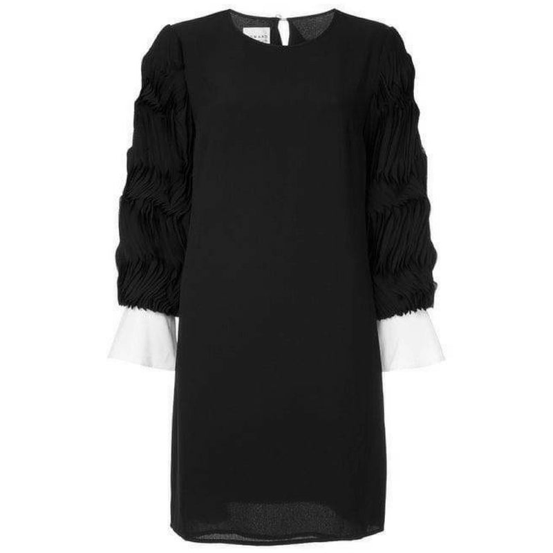 Edward Achour Black Shift Dress Timeless Martha's Vineyard