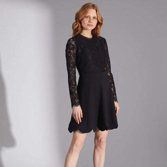 Laurian Dress - Black
