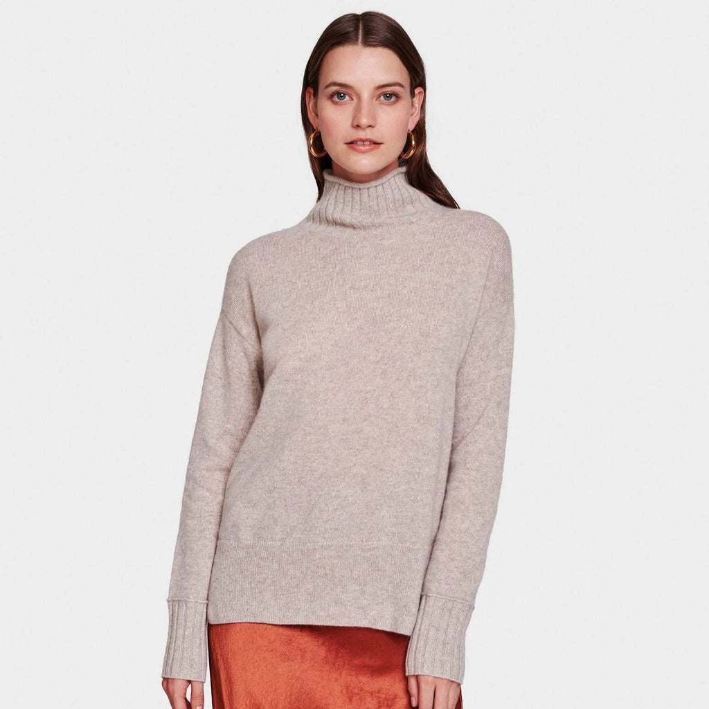 White + Warren Funnel Neck Pullover Timeless Martha's Vineyard