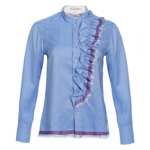 Le Sarte Pettegole Ruffle Blouse Timeless Martha's Vineyard