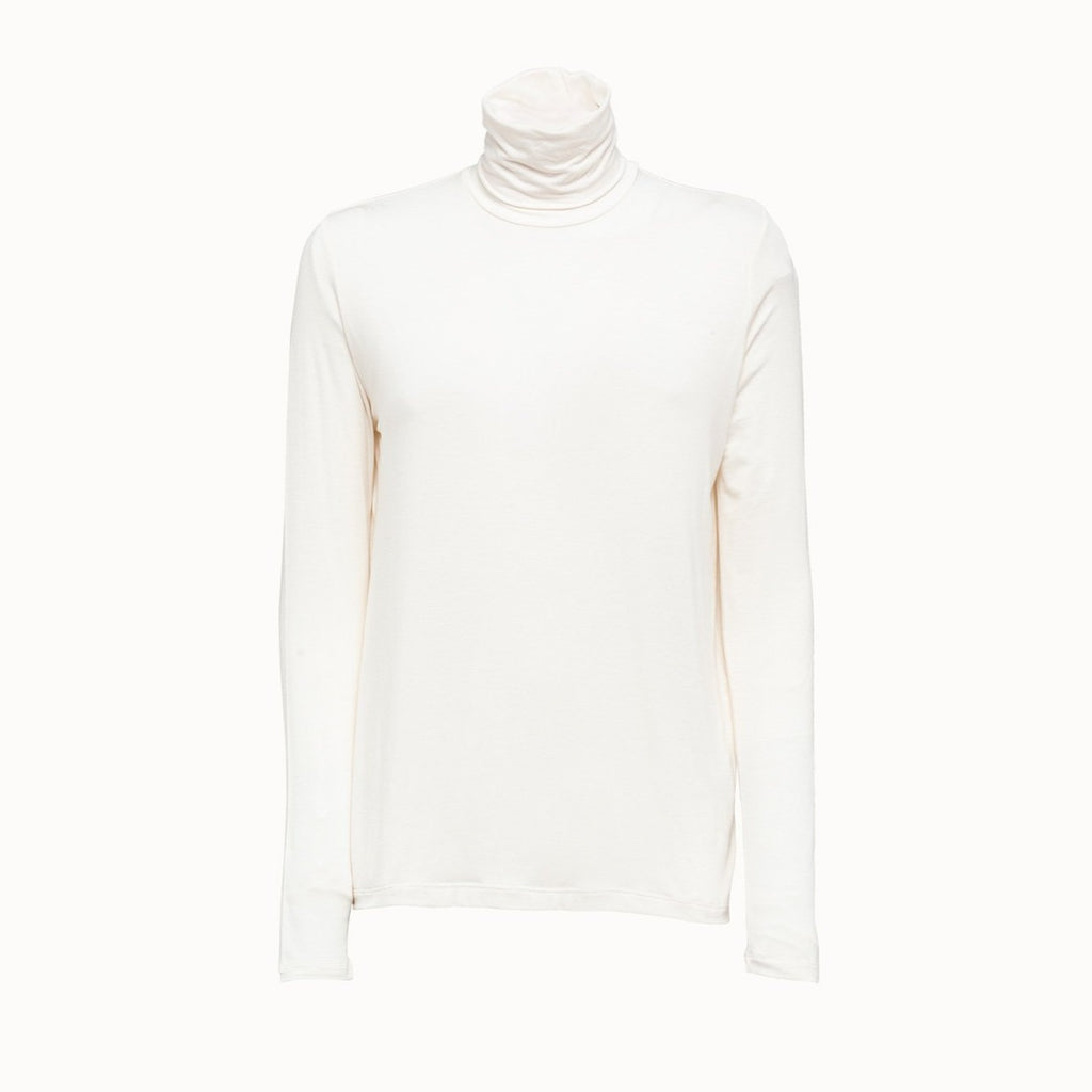 Majestic Filatures Soft Touch Back Pleat Turtleneck Timeless Martha's Vineyard