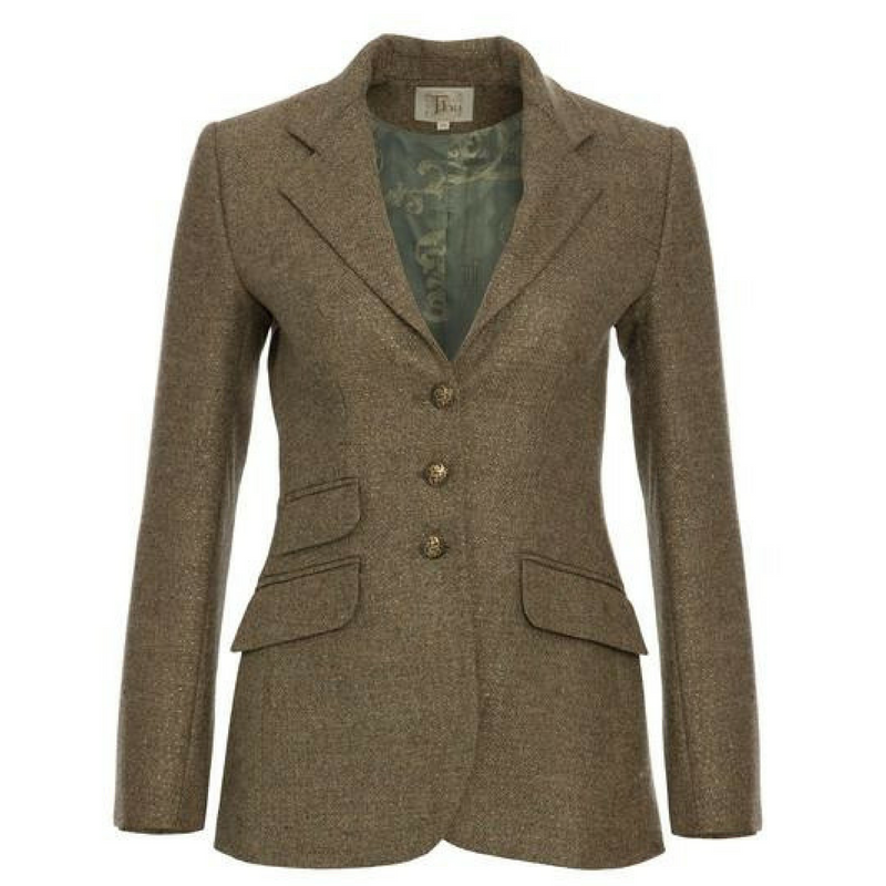 T.ba Life Metallic Tweed Jacket Timeless Martha's Vineyard