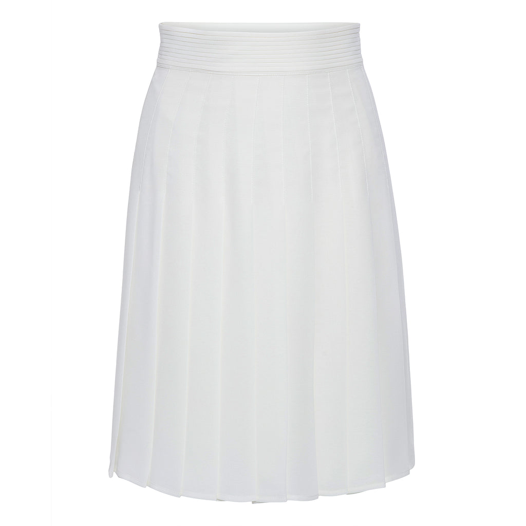 Edward Achour Pleated Skirt Timeless Martha's Vineyard