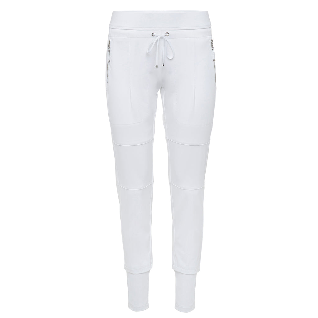 Raffaello Rossi Candy Pant White Timeless Martha's Vineyard