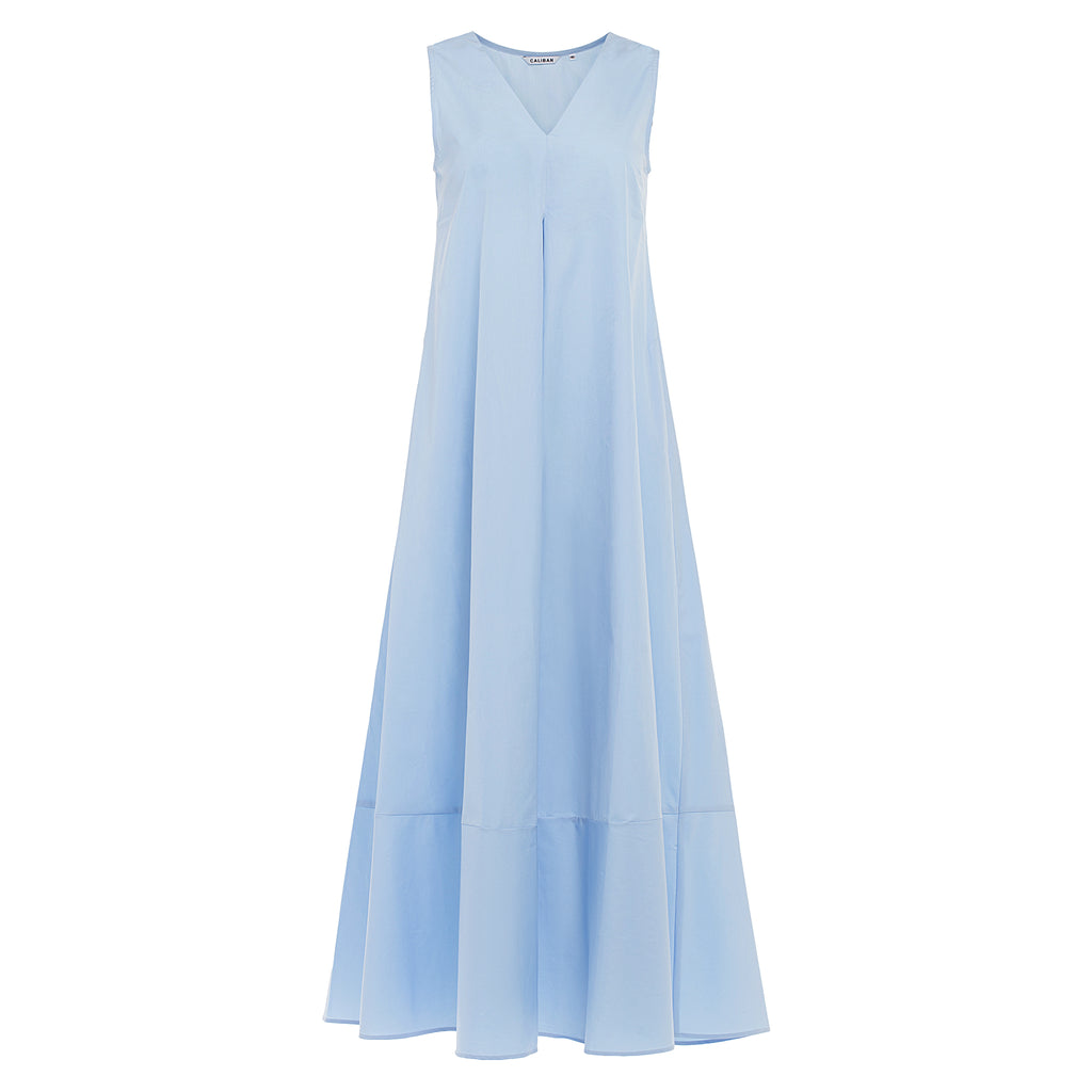 Caliban Sky Blue Maxi Dress at Timeless Martha's Vineyard
