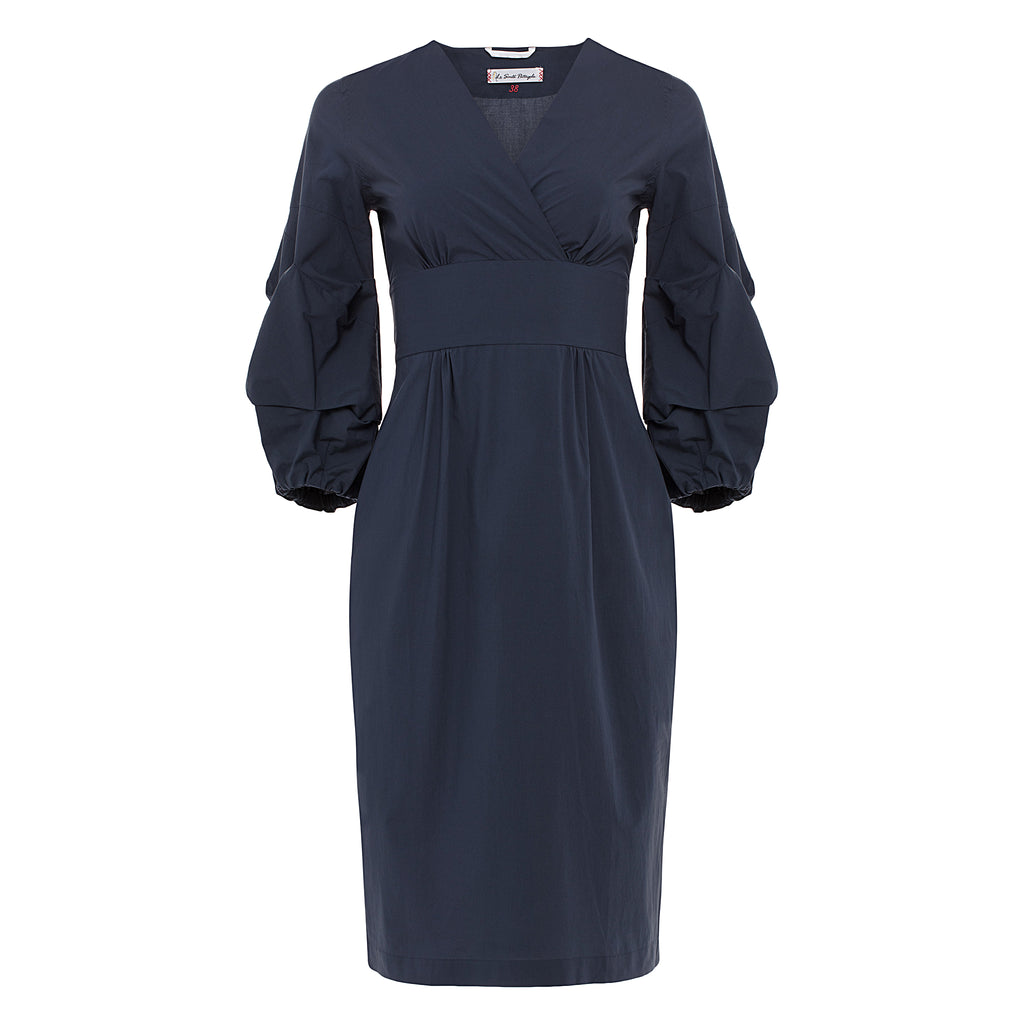 Le Sarte Pettegole Puff Sleeve Dress at Timeless Martha's Vineyard