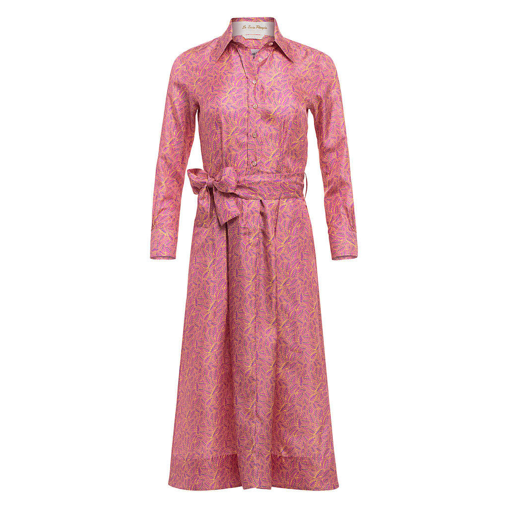 Le Sarte Pettegole Silk Shirtdress Timeless Martha's Vineyard
