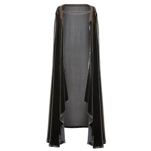 T.ba Life Velvet Embellished Cape Timeless Martha's Vineyard