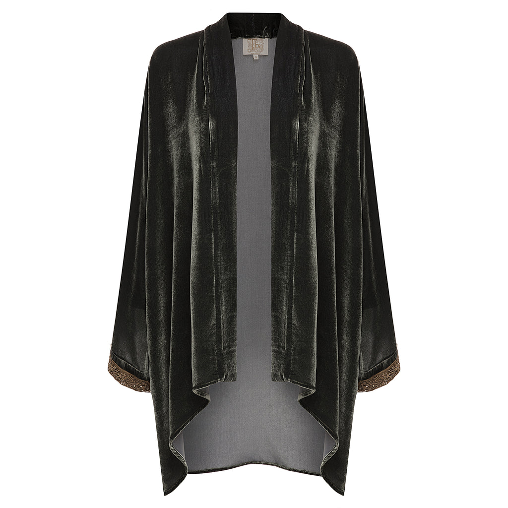 T.ba Life Embellished Sleeves Kimono Timeless Martha's Vineyard