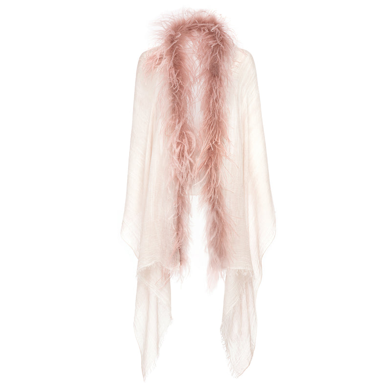 Cutulicult Cleop Feather Scarf Timeless Martha's Vineyard