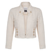 Edward Achour Crop Jacket Timeless Martha's Vineyard