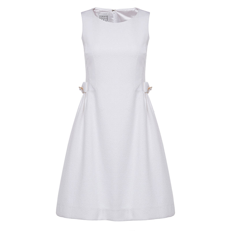 Edward Achour White Dress Timeless Martha's Vineyard