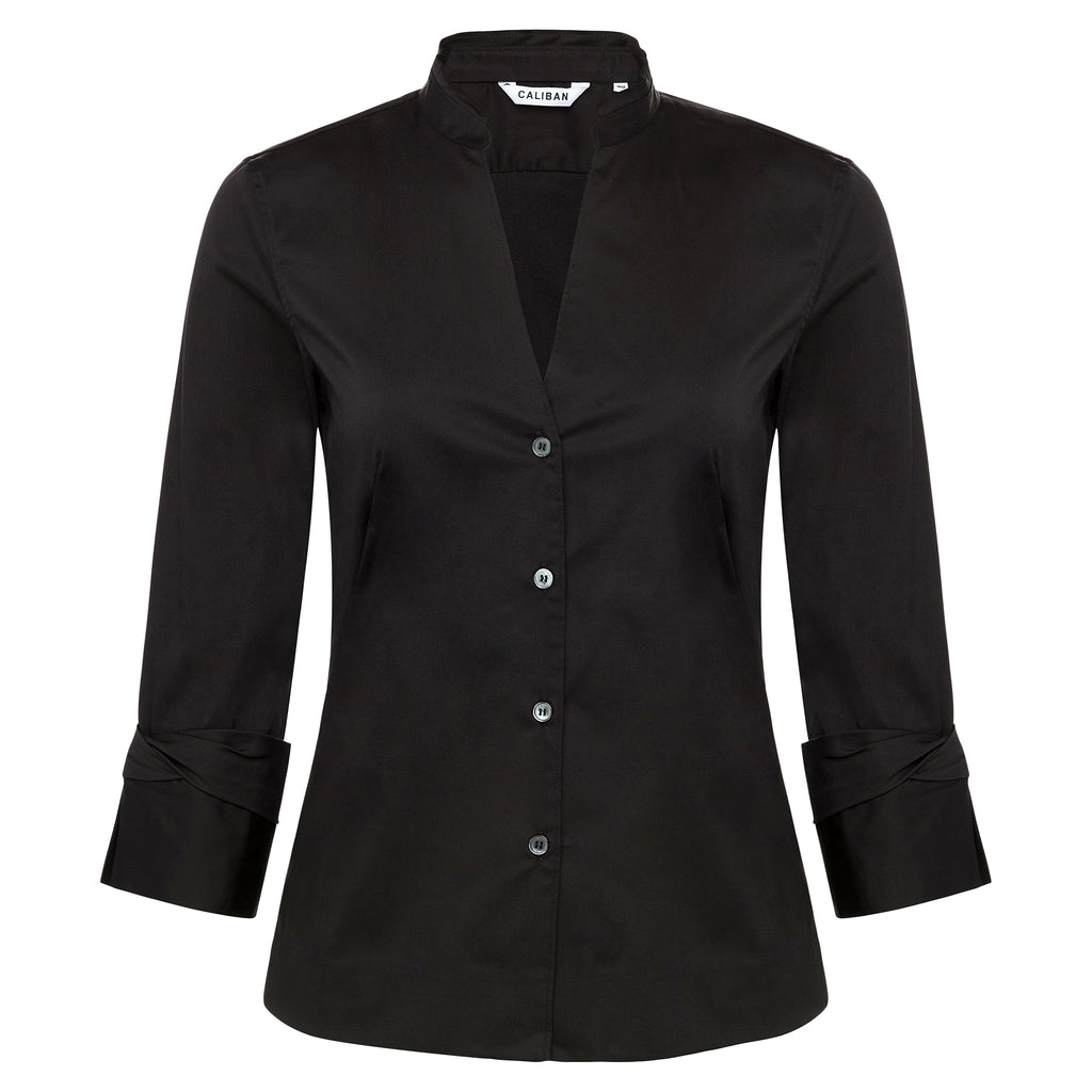 Caliban Black Blouse Timeless Martha's Vineyard