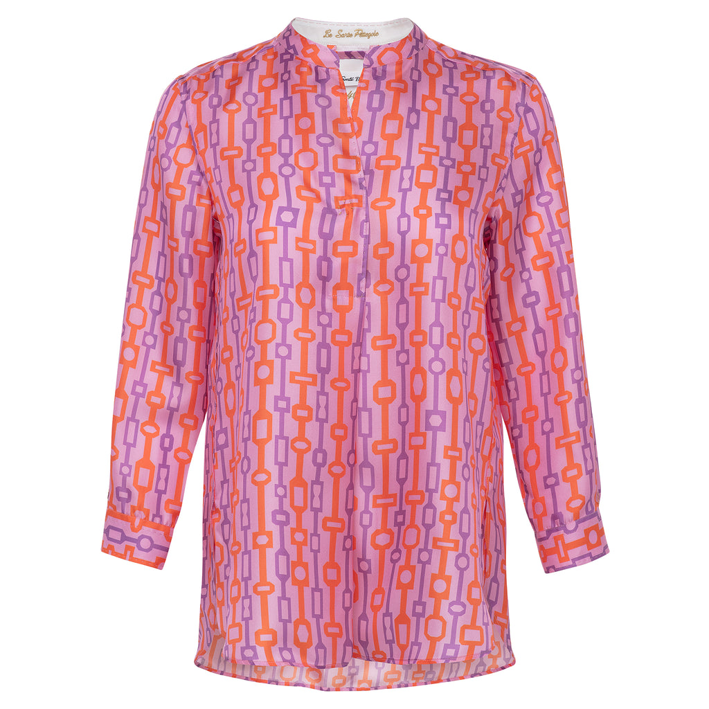 Le Sarte Pettegole Silk Tunic at Timeless Martha's Vineyard