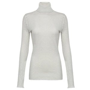 Majestic Filatures Distressed Cotton Cashmere Turtleneck Timeless Martha's Vineyard