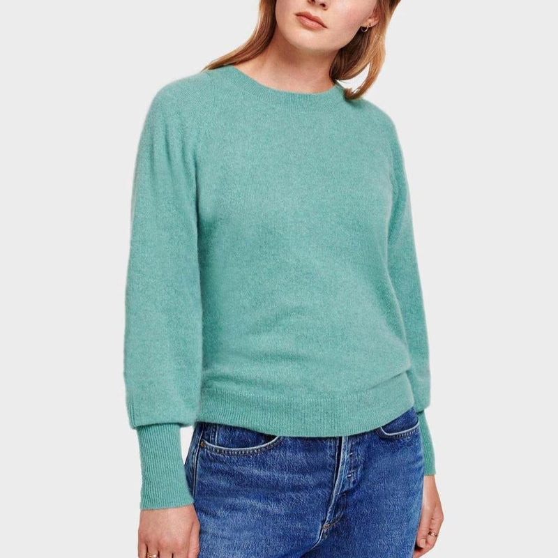 Blouson Sleeve Crewneck - More Colors
