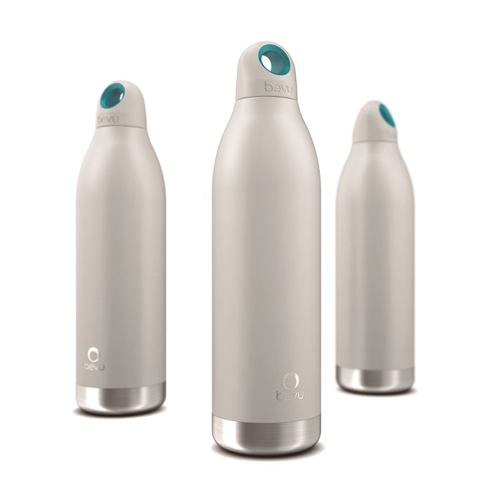 Osixstore Botella, Térmica, Bevu®, Bevu, Botellines 100% libre de BPA, BPA Free, Termo, Thermo Bottle Water Vacuun Insulated Hydration Healthy 48 Horas Frio, 8 Horas Caliente, Resistente, Acero Inoxidable, Doble Pared, Cobre, No Suda, Capacidad 18oz, Capacidad 550ml, Cierre Hermético, Sello Hipoalergénico, Reutilizable White, Blanco, Blanca BV550-WHT.