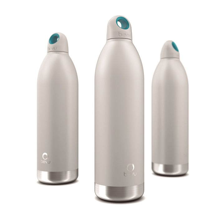 Osixstore Botella, Térmica, Bevu®, Bevu, Botellines 100% libre de BPA, BPA Free, Termo, Thermo Bottle Water Vacuun Insulated Hydration Healthy 48 Horas Frio, 8 Horas Caliente, Resistente, Acero Inoxidable, Doble Pared, Cobre, No Suda, Capacidad 25oz, Capacidad 750ml, Cierre Hermético, Sello Hipoalergénico, Reutilizable White, Blanco, Blanca BV750-WHT.