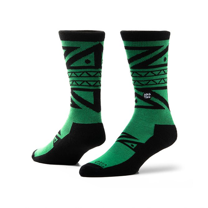 Socks - Medias / Calcetines marca Anatag, modelo Ode To The Tribe. - ANATAG - OsixStore