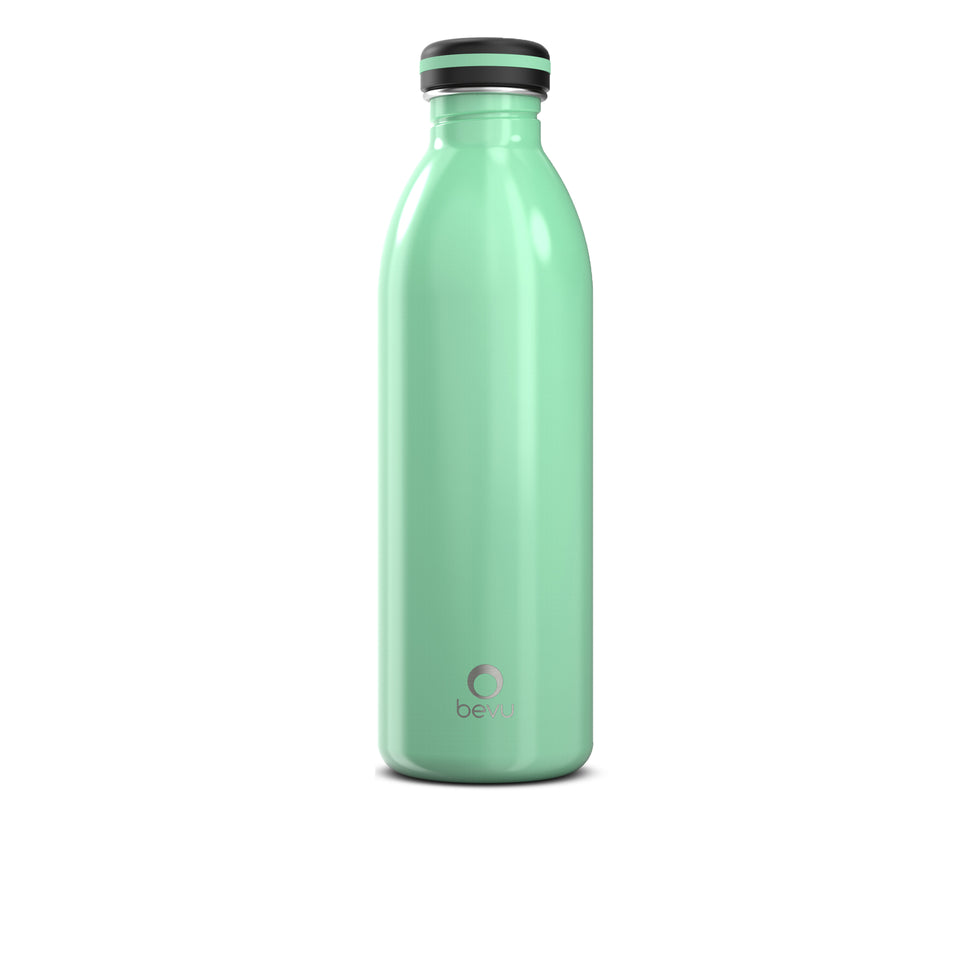 Bevu® One Botella Pared Simple Mint 750ml / 25oz