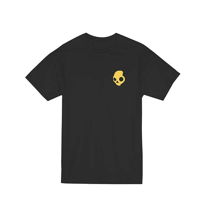 Shirts - Franela Skullcandy, modelo Stayloud Black. - SKULLCANDY - OsixStore