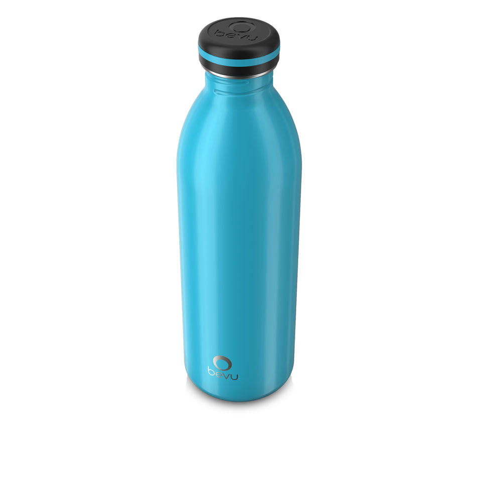 Bevu® One Botella Pared Simple Teal 750ml / 25oz