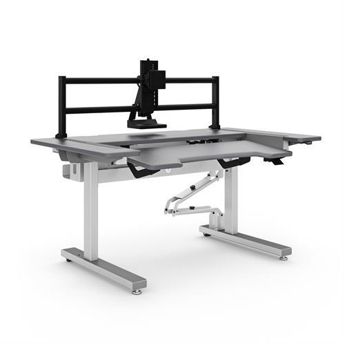 Ergotron Anthro Steve's Station Essential - Dual 60 - Stretch Desks - Height Adjustable Standing Desk