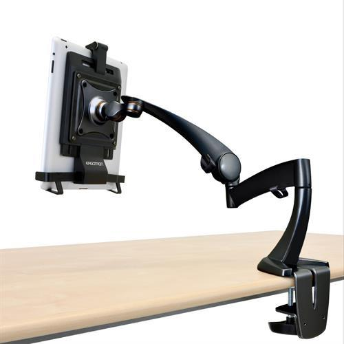 Ergotron Neo-Flex® Desk Mount Tablet Arm - Stretch Desks - Height Adjustable Standing Desk