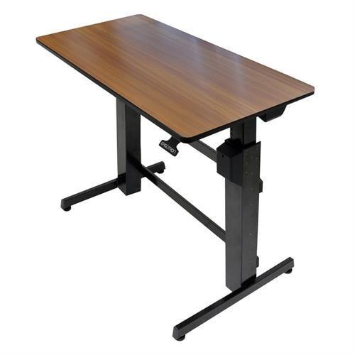Ergotron WorkFit-D, Sit-Stand Desk - Stretch Desks - Height Adjustable Standing Desk