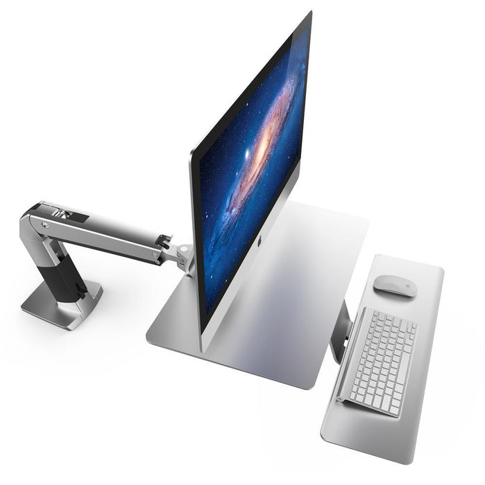 Ergotron WorkFit-A, Sit-Stand Workstation for Apple - Stretch Desks - Height Adjustable Standing Desk