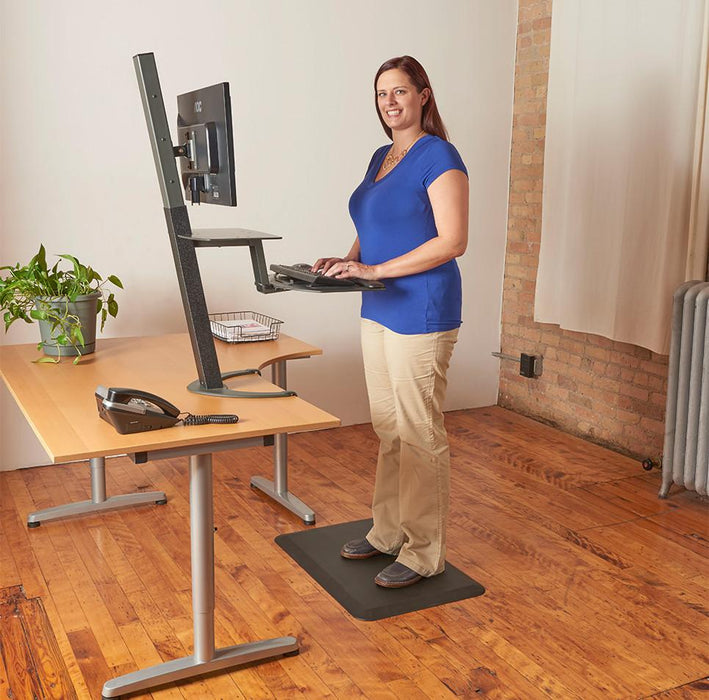 Healthpostures 6000 Comfort Mat - Stretch Desks - Height Adjustable Standing Desk