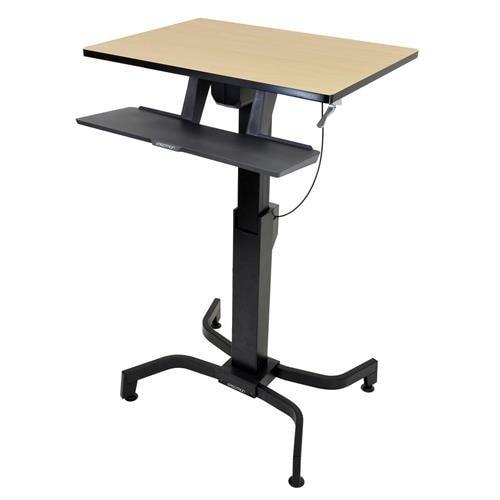 Ergotron WorkFit-PD, Sit-Stand Desk - Stretch Desks - Height Adjustable Standing Desk