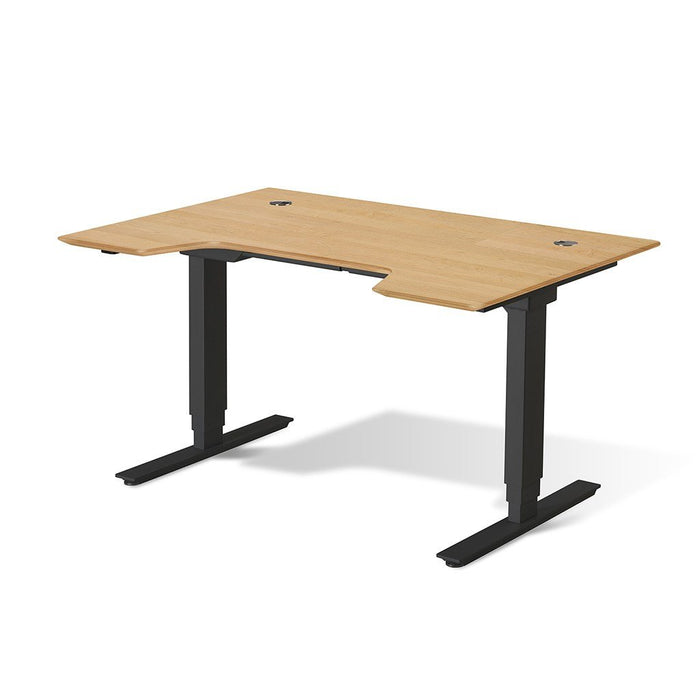 "Unique Furniture Electric Height Adjustable Standing Desk 65"" - Stretch Desks - Height Adjustable Standing Desk"