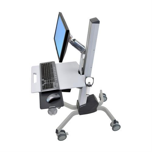 Ergotron Neo-Flex® LCD Cart - Stretch Desks - Height Adjustable Standing Desk