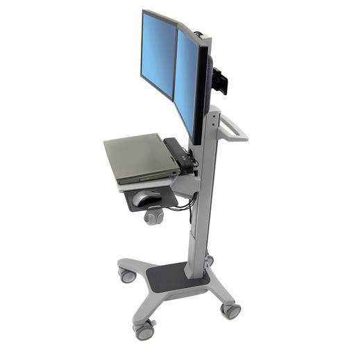 Ergotron Neo-Flex® Dual WideView WorkSpace - Stretch Desks - Height Adjustable Standing Desk