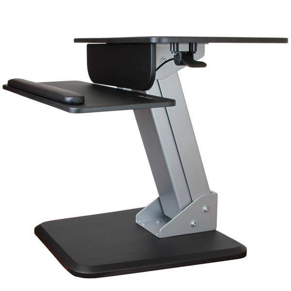 StarTech Dual Monitor Sit-to-stand Workstation - Stretch Desks - Height Adjustable Standing Desk