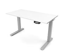 "Humanscale Efloat, 24"" d x 48"" w sit/stand desk - Stretch Desks - Height Adjustable Standing Desk"