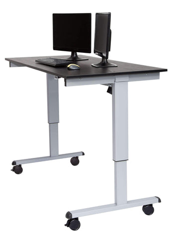 Luxor STANDCF48-AG/BO -48″ Crank Adjustable Stand Up Desk:Standing Focus:luxor