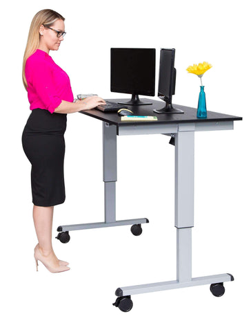 "Luxor 60"" Electric Standing Desk - bringown"