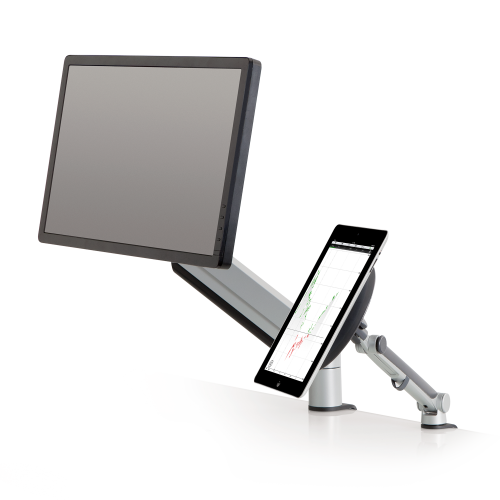 Innovative Tablik – Universal Tablet and iPad Mount - Stretch Desks - Height Adjustable Standing Desk